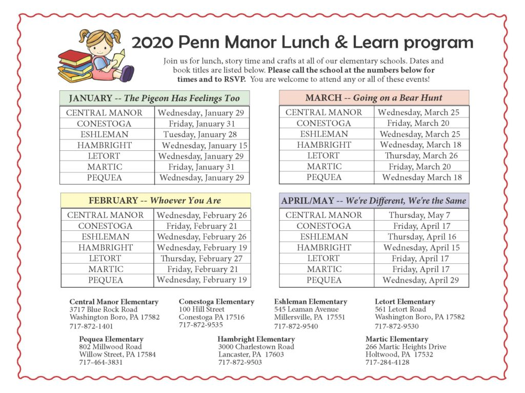 Lunch and Learn program